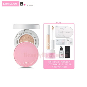 BANILA CO It Radiant CC Cover Cushion Set [Monthly Limited -July 2018]